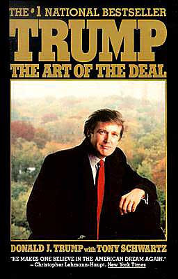 Donald Trump's Art of the Deal book cover