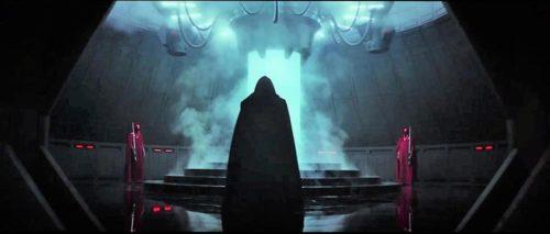 Darth Vader in the Bacta Tank