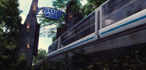 Jurassic World / Jurassic Park monorail