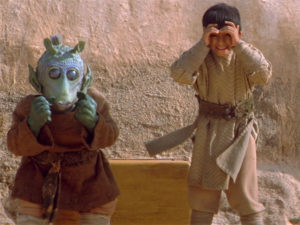 Young Greedo and Kitster in the Phantom Menace