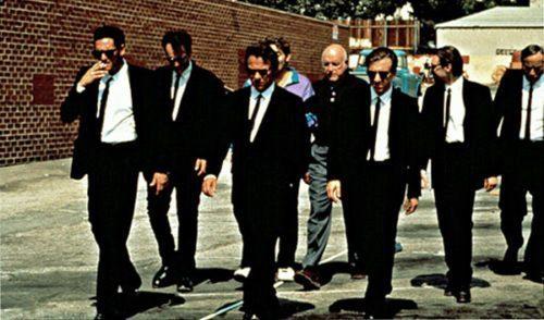 Reservoir Dogs slow-motion walk