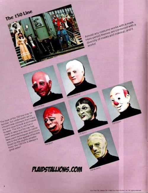 Don Post Studios 1982 catalog