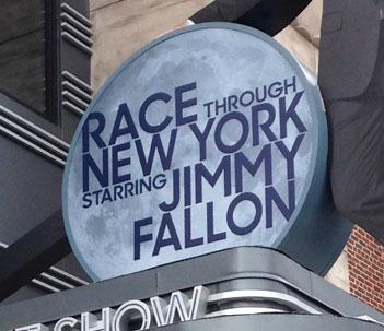 Jimmy Fallon Race Through New York logo