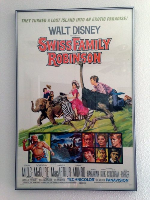 Walt Disney's Swiss Family Robinson movie poster