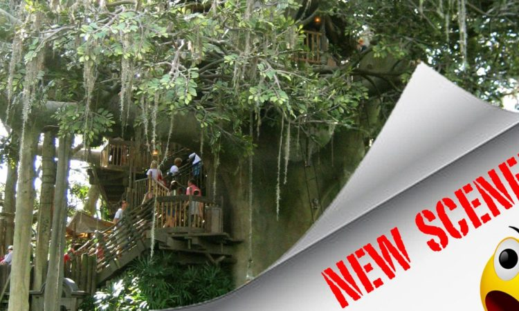 New scene added to Swiss Family Treehouse