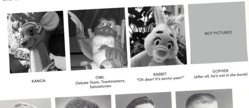 Hundred Acre Wood High School Yearbook