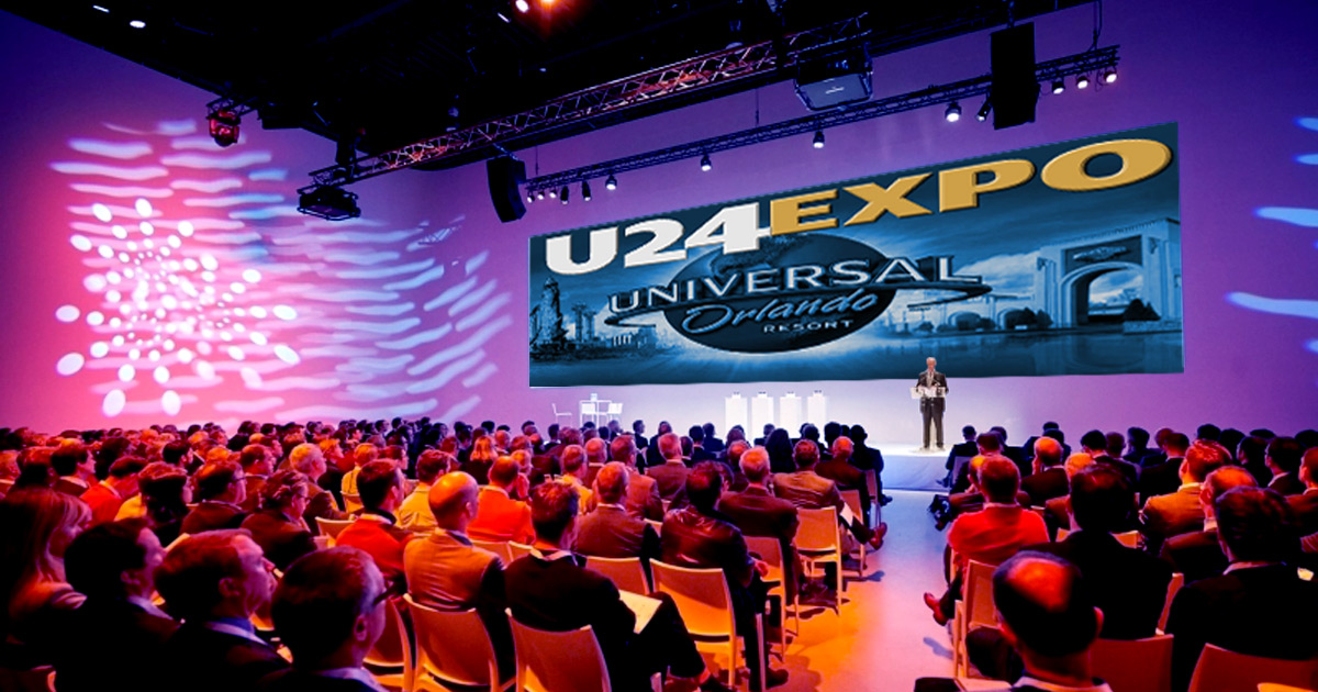 Universal Studio's Screen Presentation of the U24 Expo