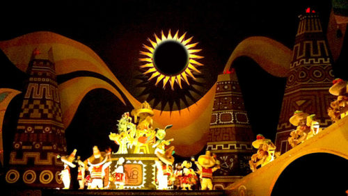 It's a small world Mexican sun solar eclipse