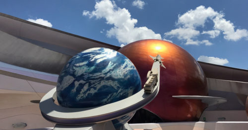 Earth and Mars outside of Mission Space