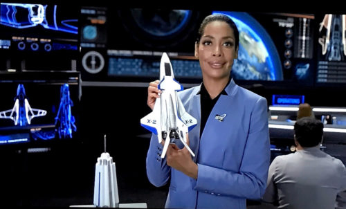 Gina Torres as the new Capcom in the relaunched Mission SPACE
