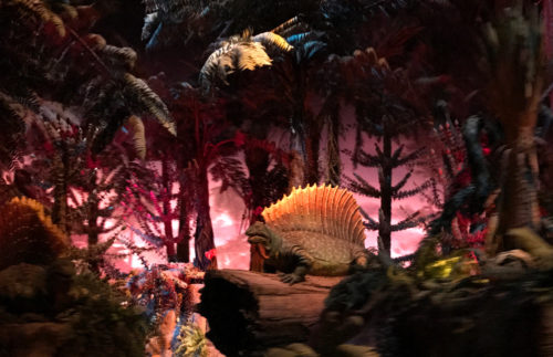 The Universe of Energy closing means the dimetrodon will soon be extinct