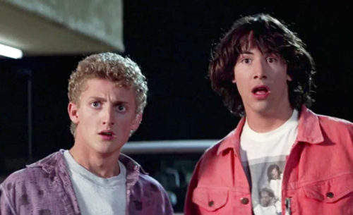 Bill and Ted's Excellent Adventure Whoah