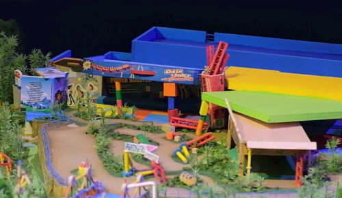 Slinky Dog Dash in Toy Story Land Model