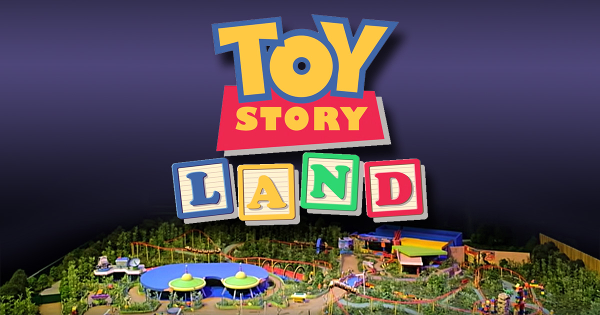 Toy Story Land model overview