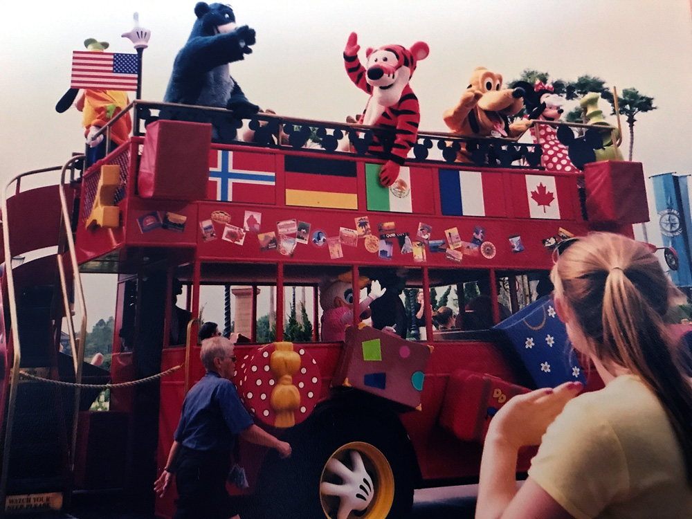 Recent Discovery! Long-Lost Epcot Double-Decker Bus Found ... | 1000 x 750 jpeg 281kB
