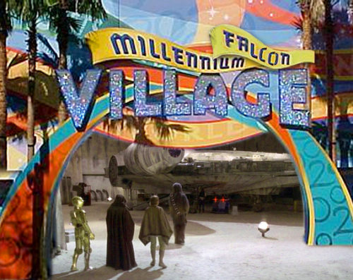 Millennium Village becomes Millennium Falcon Village at Epcot
