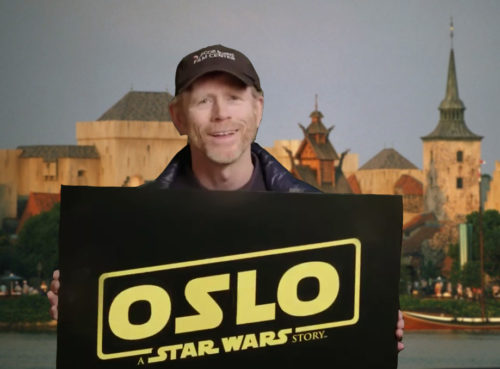 Ron Howard announces Oslo: A Norway Story instead of his Han Solo Spin-off movie
