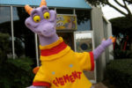 Large walk-around Figment meet and greet at Journey into Imagination