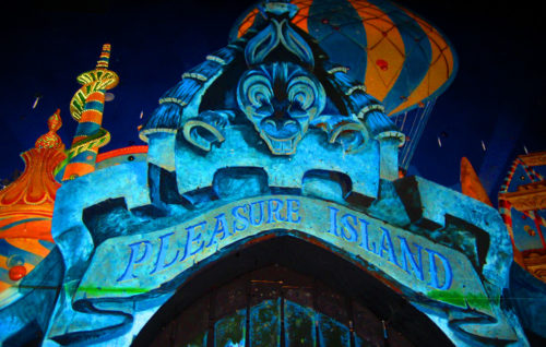 Pleasure Island at Pinocchio's Daring Journey