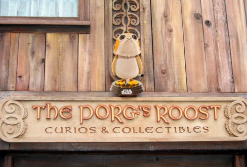 The Porg's Roost replaces the Puffins Roost at Epcot's Norway