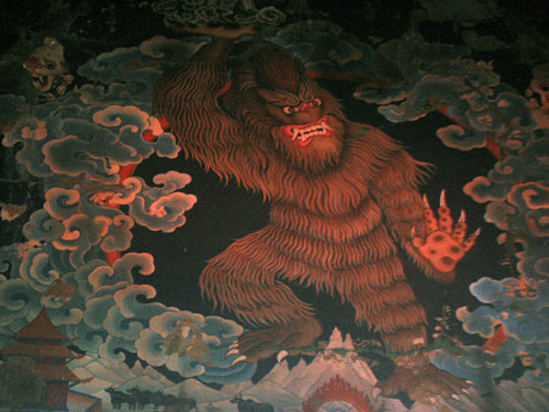Joe Rohde Yeti rendering in Expedition Everest