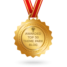 Parkeology awarded Top 50 Theme Park Blogs