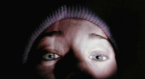 Blair Witch Project selfie