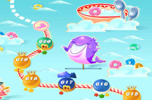 Candy Crush purple whale