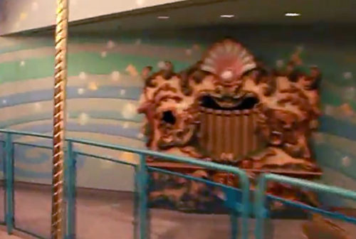 Paradise Pier's King Triton's Carousel of the Sea calliope organ
