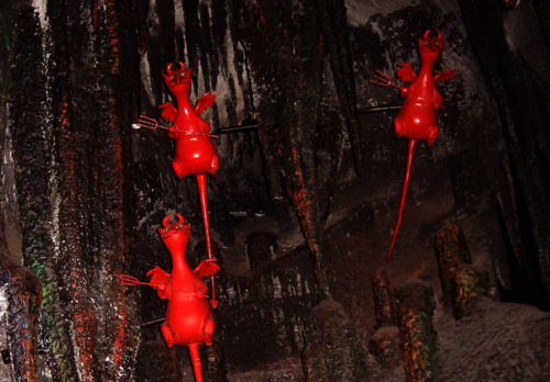 Devils in Mr. Toad's Wild Ride hell scene