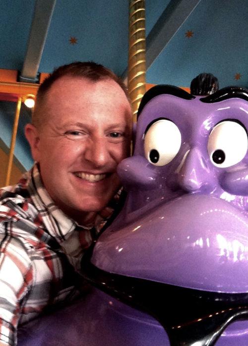 Arabian Coast's Caravan Carousel purple genie