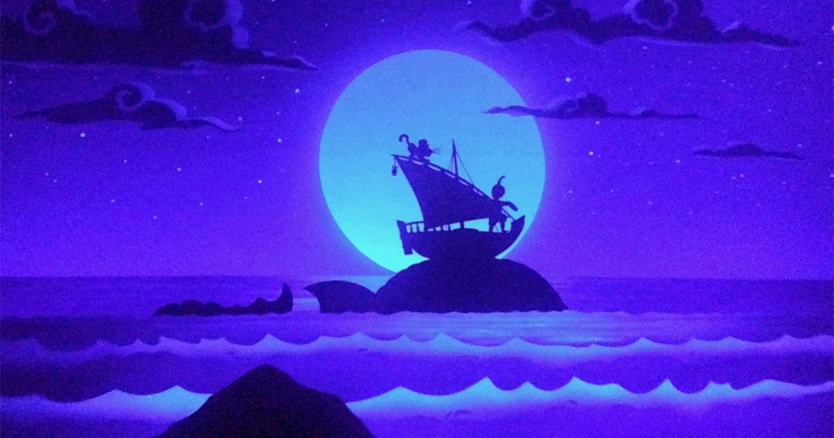 The whale in Sinbad's Storybook Voyage in Tokyo DisneySea