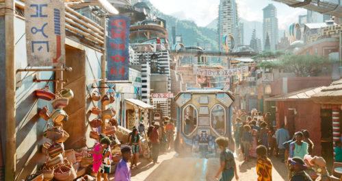 The real life Wakanda streets are brought to life at Disney's Animal Kingdom