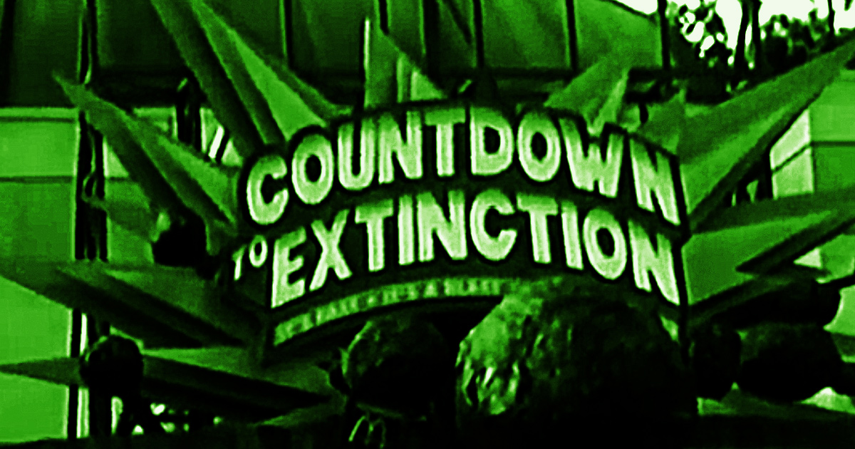 Countdown to Extinction sign