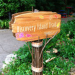 Discovery Island Trails sign at Animal Kingdom