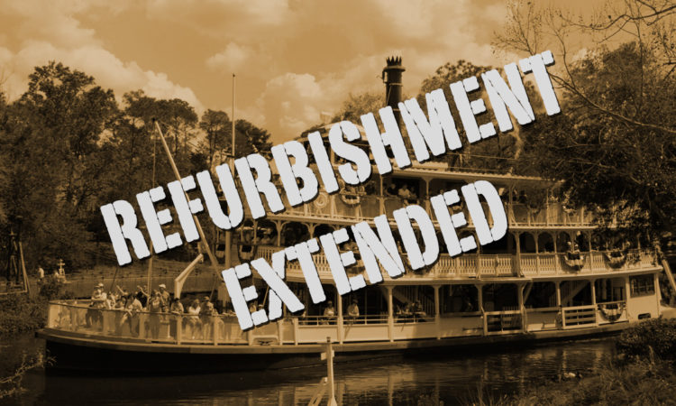 Liberty Belle Riverboat Refurbishment Extended Until August 30, 2018