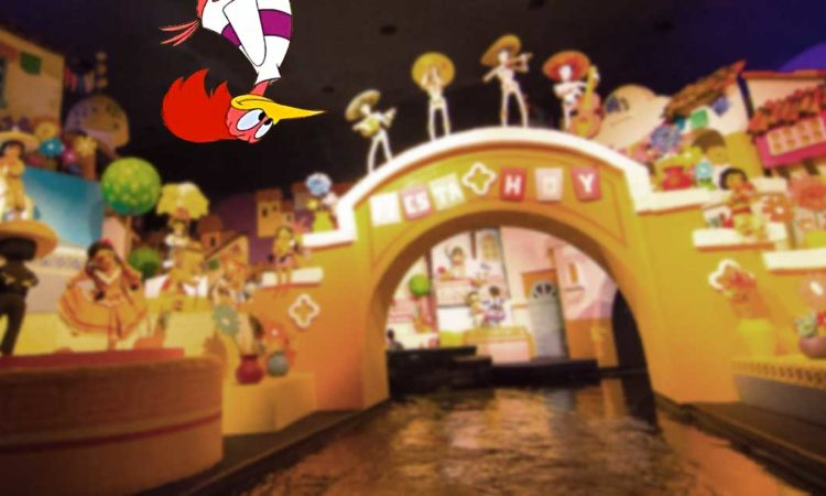 The Aracuan Bird in Gran Fiesta Tour Starring the Three Caballeros