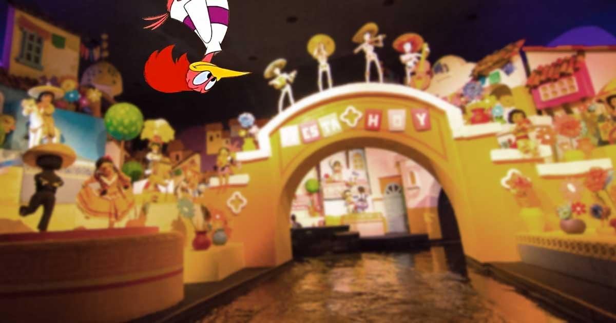 The Aracuan Bird in Gran Fiesta Tour Starring the Three Caballeros