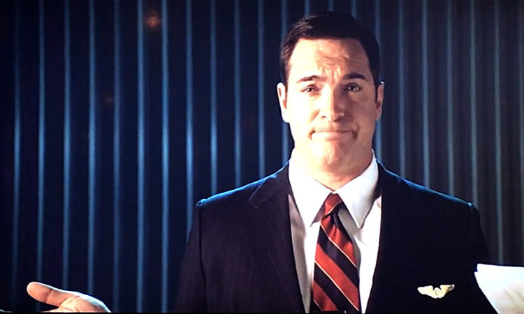Soarin' Around the World preshow starring Patrick Warburton