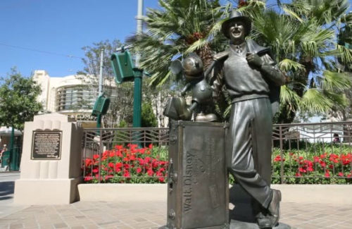 Walt Disney Storytellers statue at California Adventure