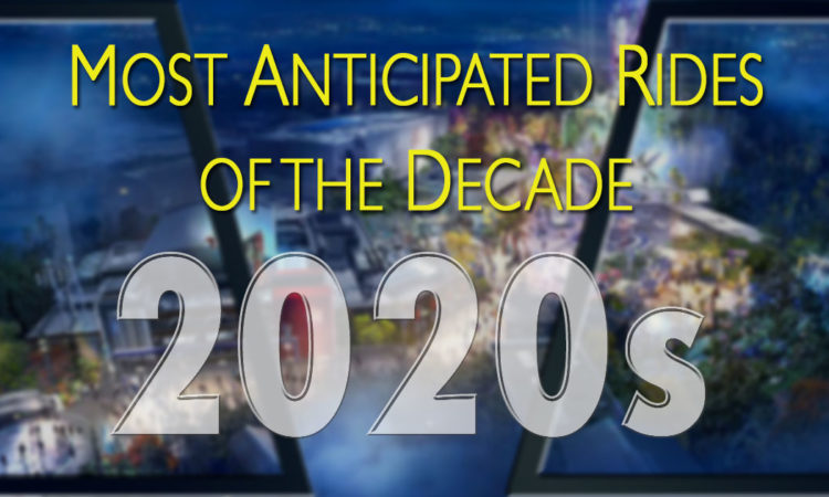Most anticipated Disney rides of the 2020s
