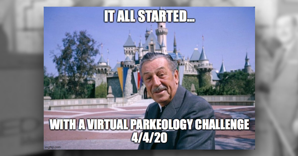 Virtual Parkeology Challenge - 4/4/2020