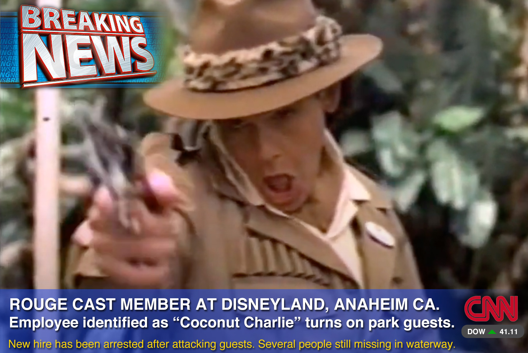 Disneyland's 35th Anniversary Special Chaos on the Jungle Cruise