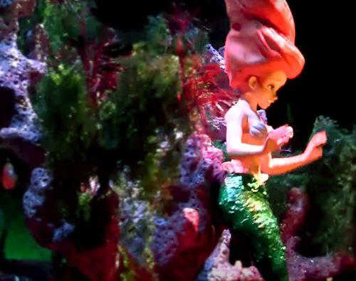 Dole Whip Ariel from The Little Mermaid ~ Ariel's Undersea Adventure at Disney California Adventure