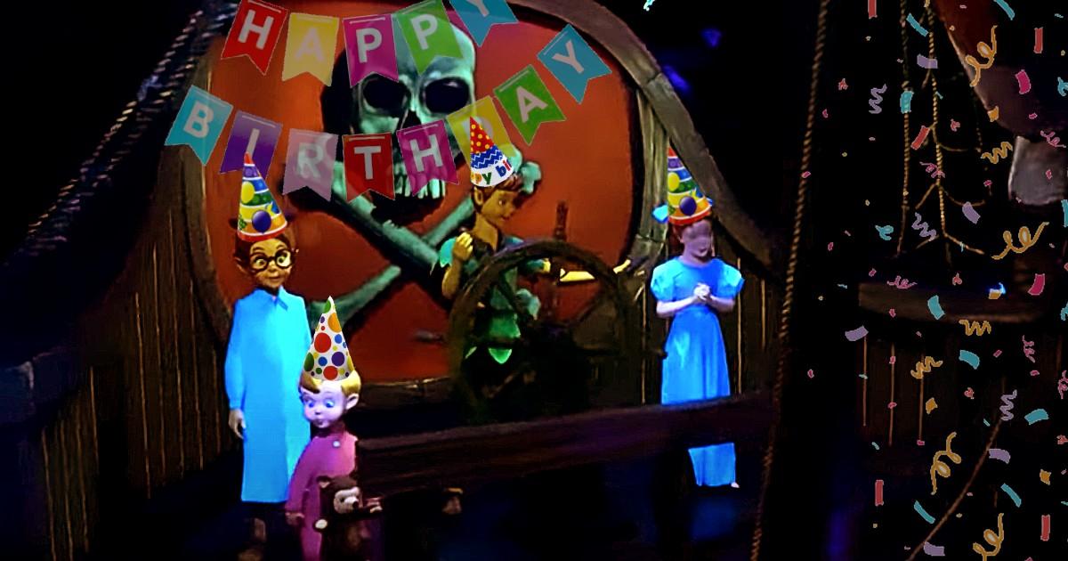 Peter Pan's Flight 50th Birthday
